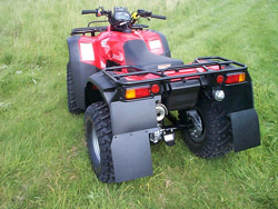 Honda TRX350/400 Rear