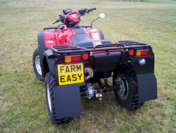 Honda TRX500 up to Oct 2011